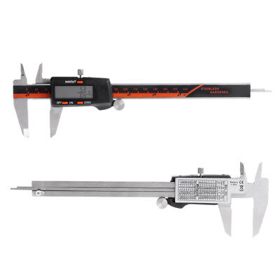 Electronic Digital Caliper Inchmetricfractions 0-6 Inch150 Mm Stainless Steel