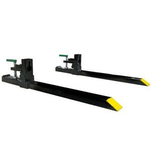 """Titan 30"""" Clamp-on Pallet Forks Attachment for Small Tractor/Skid Steer Buckets - BRAND NEW - FREE SHIPPING"""