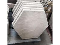 450x450 concrete hexagon paving slabs