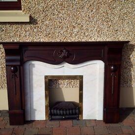 Fireplace Surround & Gas Fire