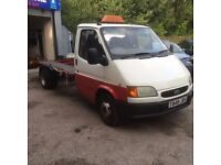 1999 ford transit recovery truck turbo diesel 2.5, full 12 months mot, this truck is stunning