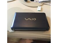 Sony VAIO 10.6in Windows 7 Netbook excellent condition £60
