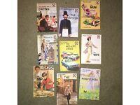"Set of 9 ""Adult"" Ladybird books"