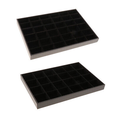 3624 Compartments Bracelet Bangle Display Tray Storage Box Case Holder