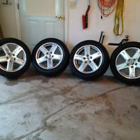 225/55R19 Tires & Rims Dodge Journey