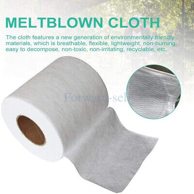 Melt-blown Nonwoven DIY Fabric Mouth Face Craft Filter Interlining 10M US