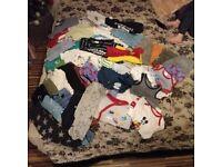 Infant boys clothes bundle