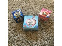 3 Small Puzzle Balls