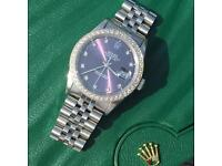 Rolex DateJust Diamond Dial & Bezel
