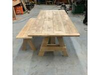 Tables and Furniture made to order from scaffold boards & Reclaimed Timber