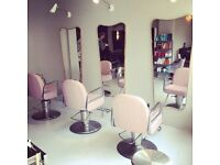 Senior stylist and beautician full time position.