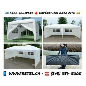 10x10 ft • 10x20 ft Easy Pop Up Wedding Party Canopy Tents For Sale from.$149
