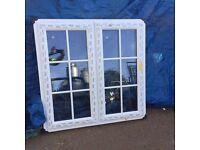 UPVC Window 1150mm x 1140mm ref 239