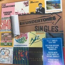 The Undertones - RSD 2018 Limited Edition 13 Singles Box Set with poster