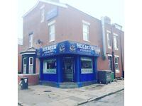 Fish & Chip/Take Away Shop Lease/For Sale