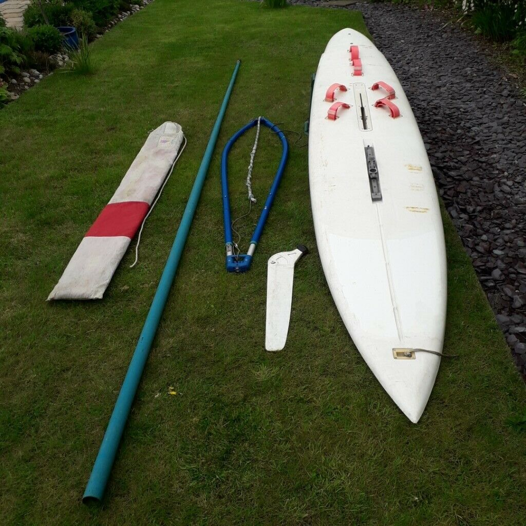 Vinta 340 Windsurfer board and rig Complete | in Grantham, Lincolnshire |  Gumtree