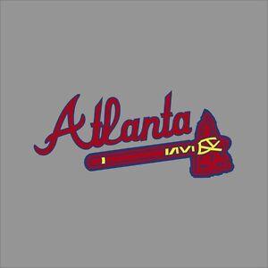 Atlanta Braves 4 Mlb Team Logo Vinyl Decal Sticker Car