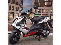 Aprilia SR50R Carb 50cc Moped SR 50 R - WHITE
