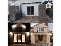 EXTENSION-GARAGE CONVERSION-LOFT CONVERSION-KITCHEN FITTING-BATHROOM INSTALATION