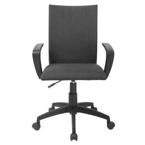 Black Ergonomic Desk Task Office Chair Midback Executive Computer Chair - BRAND NEW - FREE SHIPPING