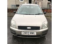 FORD FUSION 2003 1.4 DIESEL £30 ROAD TAX