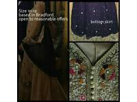 Stunning Asian Wedding Bridal Dress Lengha Outfit Size 10-12