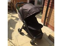 Mamas & Papas Armadillo Pushchair in Graphite. Includes rain cover. Suitable from birth.