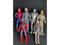 """Doctor Who, Star Wars, Spider-Man 10"""" Action Figures"""