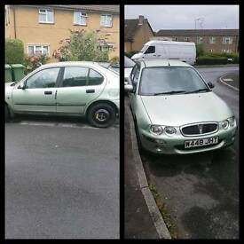 Rover25 1.4 Green (Spares/Repair)