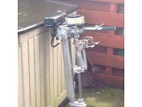 Seagull Silver Century 4hp Outboard