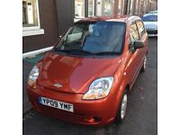 2009 / 09 Chevrolet Matiz 0.8S 5 door, low mileage and good condition