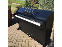 Eavestaff mini-piano Black |Belfast Pianos | Free Delivery|