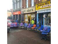 selection of swivel chairs £5 a piece