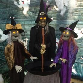 Halloween wicked sisters