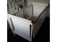 Boori Urbane Trinity Cot Bed - White- Hardly Used
