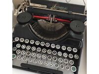 Sterling Continental Typewriter Working