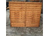 Fence panels factory seconds