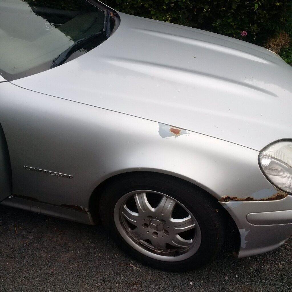 Mercedes-Benz, SLK, Convertible, 2001, Semi-Auto, 1998 (cc), 2 doors