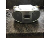 Philips CD and Radio (white)