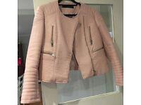 Zara Vegan leather jacket XL