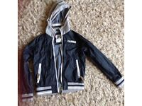 Girls hooded jacket age 10