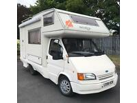1994 Ford Transit Motorhome camper LHD 2.4 Diesel with lpg conversion FULL YEAR MOT