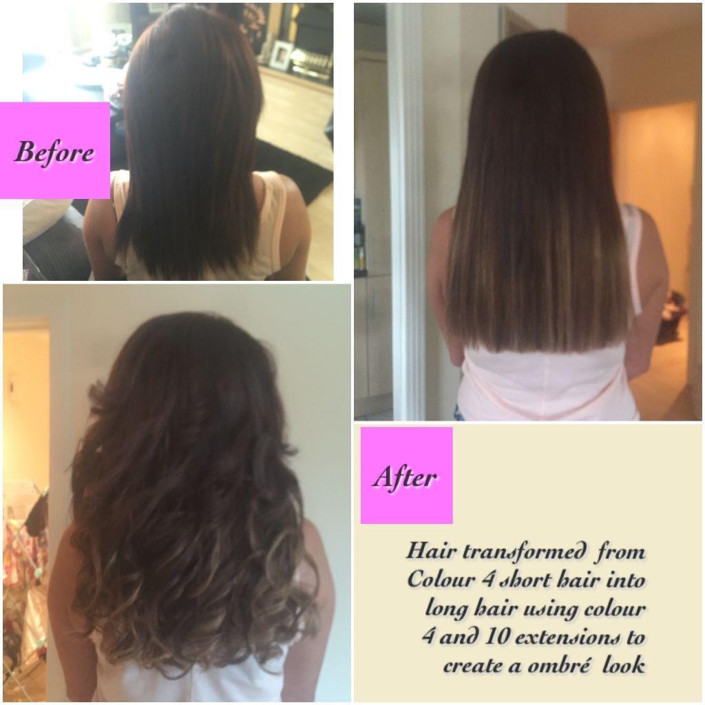 Hair Extensions Easilocks Russian Brazilian Micro Ringweftnano