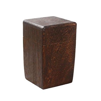 Wooden Tea Caddy Canister Tea Boxes Kung Fu Tea Storage Portable Storage Jar