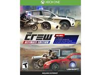 The crew Xbox one ultimate edition 1 Week Old