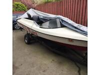 Speedboat&engine and trailer!!