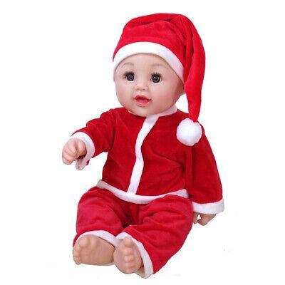 Weihnachten Outfit Set Tops Hosen Hut für 50cm - Weihnachten Outfits Für Babys