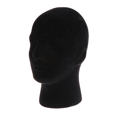 Foam Mannequin Manikin Head Model Glasses Display Model Black