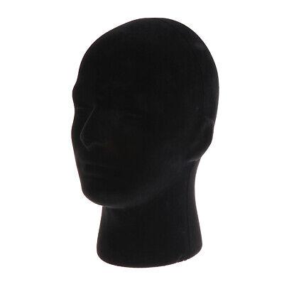 Foam Mannequin Manikin Head Model Glasses Display Model Black