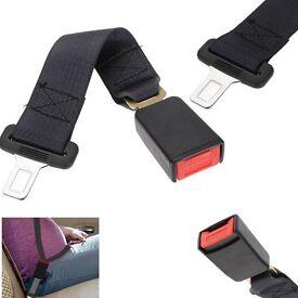 Adjustable 36CM Auto Car Seat Belt Extension Extender Safety Support Buckles UK